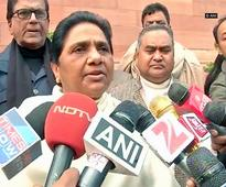 Modi government betrayed people of UP: Mayawati