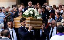 Italy accuses Malta of failing to counter organised crime as murdered journalist is buried