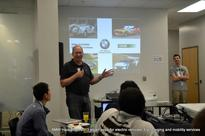 BMW Hackathon 2013 smartphone apps for electric cars