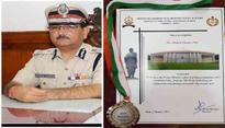 Goa Police Chief awarded 3rd Prize in Prime Minister's Silver Cup Essay Competition 2017