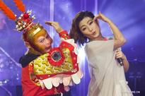 Monkey King's actor performs during 2016 Chinese New York Concert