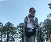 Saayoni Ghosh holidays in Bhutan!