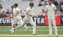 Ashes: England reject ball-tampering as rain halts victory push