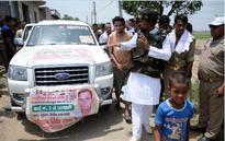 It's Noida's Sangram: In bulletproof vest, a shot at politics