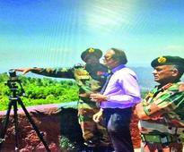 Defence Secretary visits LoC, reviews security scenario