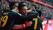La Liga: Late Gameiro hat-trick rescues victory for Atletico Madrid against Sporting Gijon