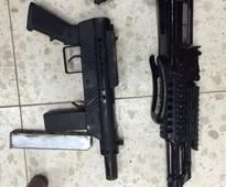 Police dog uncovers illegal weapons being smuggled from West Bank into Israel