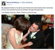 Facebook COO Sheryl Sandberg Remembers Late Husband Dave Goldberg On Anniversary Of Death