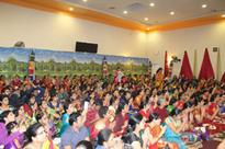 Kumkumarchana performed at Fremont Temple