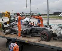 Malaysian Grand Prix: Sepang circuit given all-clear by FIA after shock tyre explosion mars practice session