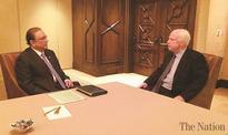 Zardari meets senator McCain