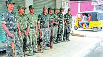 Security up in old Hyderabad for the Bonalu procession