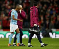 Manchester City midfielder Fernandinho to miss upcoming fixtures after sustaining injury in League Cup final