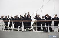 Argentina's frigate ARA Libertad (Q-2) starts instruction travel