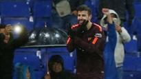 La Liga: Gerard Pique strikes against Espanyol to keep Barcelona unbeaten