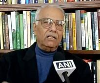 Yashwant Sinha for dialogue with all stakeholders to restrain Kashmir unrest