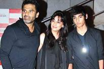 Sunil Shetty ensures his kids get intense training