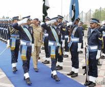 Gen Rashad calls on air, naval chiefs
