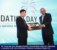 Hyundai Motor India 20th Foundation Day celebrated