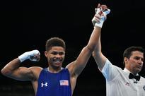 US boxing prospect impresses watching Mayweather