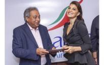 Srilanlan Airlines signs up Jacqueline Fernandez as their Brand Ambassador