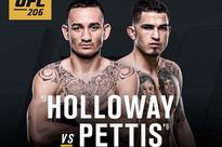 What time is UFC 206? TV info and more ahead of Max Holloway vs Anthony Pettis
