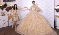 Vivienne Tam creates a Ferrero Rocher dress for Christmas