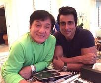 Jackie Chan does Bhangra with Sonu Sood