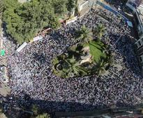 Millions march in Nanded for Muslim Reservations