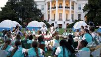 Girl Scouts push back against attacks over Trump inauguration participation - There's a petition to bar Melania Trump from the Girls Scouts because she modeled nude