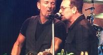 Bono joins Bruce Springsteen on stage at Croke Park