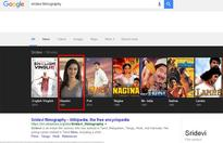 Epic fail! Google 'Chandni' the film and you will be surprised