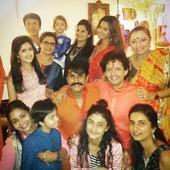 Reunion! Ragini Khanna, Supriya Pathak and other members of Sasural Genda Phool's cast celebrate Diwali together