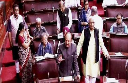 Ruckus in RS over 'role of Guvs' in Goa, Manipur