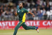 Tahir fined for Warner spat, SA docked for slow over rate