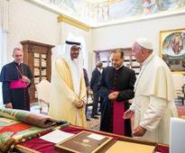 Mohamed discusses bilateral ties,  humanitarian causes with Pope