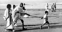 Little boy who led Gandhiji to Dandi village battling for life