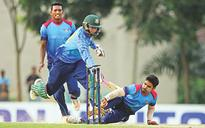 Abahani survive intense finish