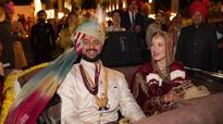 Pics: Bollywood heartthrob Arunoday Singh gets hitched to girlfriend Lee Elton