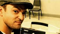 Justin Timberlake posts illegal yet enthusiastic polling booth selfie