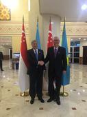 ESM Goh meets Kazakhstan Prime Minister; reaffirms ties