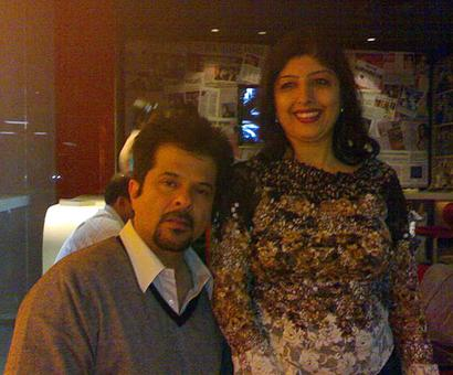 Spotted: Anil Kapoor at Mumbai airport