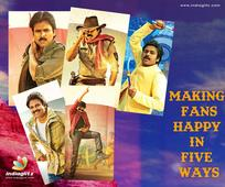Pawan Kalyan: Making Fans Happy In Five Ways