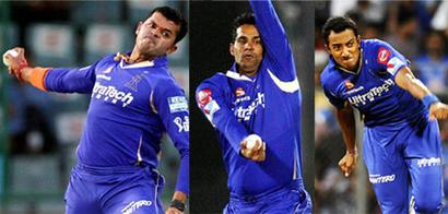 IPL: Rajasthan Royals suspend contracts of tainted trio