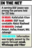 Espionage rackets with Pak. links busted, BSF man among 5 arrested