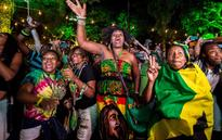 One love: Jamaica House rocks to the sound of reggae in honour of Usain Bolt