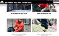 Nike vs. Adidas vs. Under Armour: Site navigation comparison