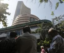Sensex down 91 points; Reliance Infra up on biz sale news