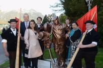Switzerland honours ICONIC filmmaker Yash Chopra by inaugurating a statue in his memory  watch video!