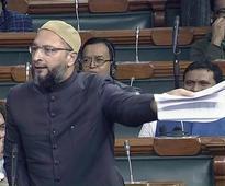 Owaisi demands 3-yr jail term for anyone calling Indian Muslims 'Pakistani'